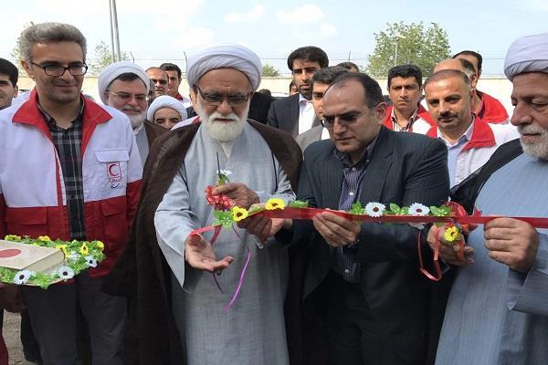 افتتاح مجتمع آموزشی- رفاهی و امدادسرای هلال احمر استان مازندران