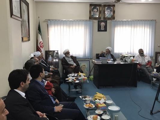 دیدار با نماینده ولی فقیه در مازندران