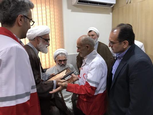 افتتاح پایگاه امداد و نجات شهدای منطقه علامه طبرسی شهرستان قائم شهر