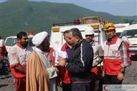 تصاویر بازدیدرئیس دفتر نمایندگی استان گلستان با بازماندگان حادثه تونل گلستان