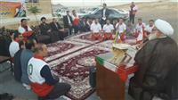 تصاویر دیدار صمیمانه و مهمانی افطار پایگاه زرندیه با حضور نماینده رهبر انقلاب در هلال احمر