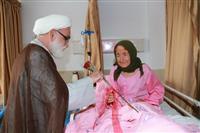 تصاویر عیادت نماینده رهبر انقلاب در هلال احمر از مصدومین زلزله زده خراسان شمالی