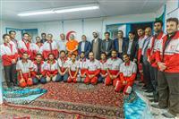 گزارش تصویری:رئیس هلال احمر میهمان افطار پایگاه جاده ایقوچک