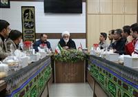 تصاویر برگزاری شورای اداری هلال احمر قم با حضور حجت الاسلام و المسلمین معزی