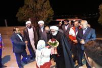 سفر استانی نماینده ولی فقیه در هلال احمر به کرمانشاه در یک قاب
