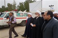 تصاویر بازدید از قرارگاه مرزی جمعیت هلال احمر در مرز مهران
