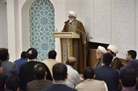 تصاویر مراسم مناسبت بازگشایی بنای جدید نمازخانه ساختمان صلح هلال احمر