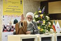 گزارش تصویری: سخنرانی نماینده رهبر انقلاب در هلال احمر در نشست تخصصی هلال و تعالیم عالیه اسلام