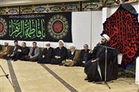 تصویری: برپایی مراسم عزاداری شهادت فاطمه زهرا(س) در هلال احمر