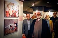 گزارش تصویری بازدید نماینده ولی فقیه در هلال احمر از نمایشگاه عکس 39 سال خدمات بشردوستانه جمعیت