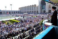 بیانات مقام معظم رهبری(مدظله العالی) در خطبه های نماز عید سعید فطر