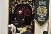 برپایی مراسم سوگواری اباعبدالله الحسین (ع) در جمعیت هلال احمر