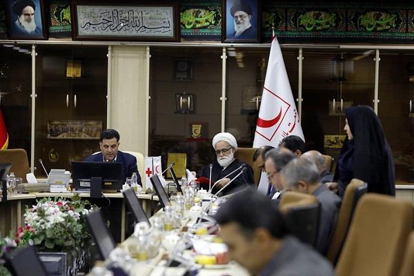 اعضای شورای عالی جمعیت از خدمتگزاران به زائران اربعین تقدیر کردند