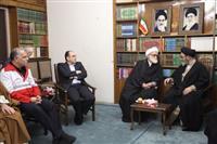 دیدار نماینده ولی فقیه در هلال احمر با نماینده رهبر معظم انقلاب در آذربایجان شرقی