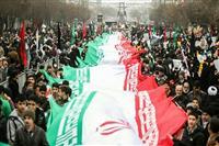 همراهی اعضای هلال احمر، دوشادوش ملت بیدار و با بصیرت کشور در جشن پیروزی انقلاب