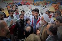 بازدید نماینده مقام معظم رهبری از انبارهای جمع آوری کمک های مردمی به سیل زدگان لرستان