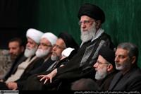 برگزاری مراسم شب تاسوعای حسینی در محضر مقام معظم رهبری