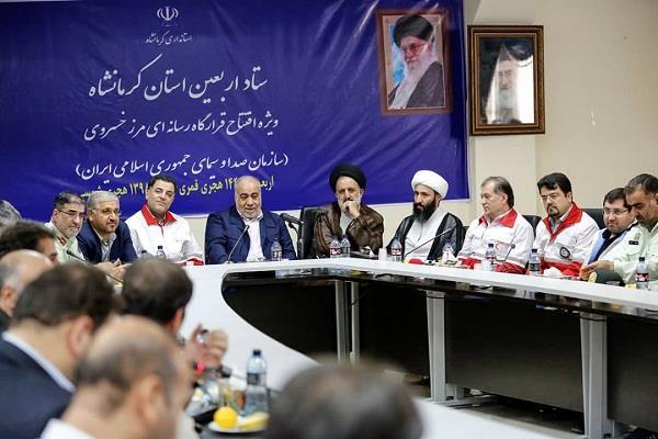 افتتاح قرارگاه رسانهای اربعین