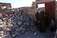 بازدید نماینده رهبر معظم انقلاب از مناطق زلزله زده