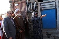 بازدید نماینده ویژه مقام معظم رهبری از  روستاهای زلزله زده ورنکش و ورزقان