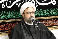 مراسم عزاداری شهادت حضرت فاطمه زهرا (س) در ساختمان صلح برگزار شد