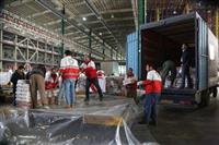 ارسال کمک های مردمی هلال احمر استان تهران  به استان سیستان و بلوچستان