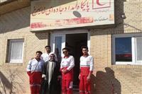 دیدار مسئول دفتر نمایندگی ولی فقیه در هلال احمر کرمان با امدادگران