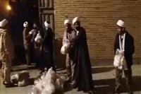 امداد رسانی طلاب حوزه علمیه قم به سیل زدگان سیستان و بلوچستان