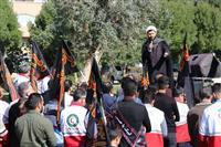 برگزاری راهپیمائی اعضای هلال احمر استان خوزستان
