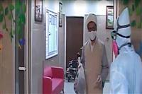 خدمات رسانی داوطلبانه طلاب به بیماران کرونایی در بیمارستان شهید صدوقی یزد