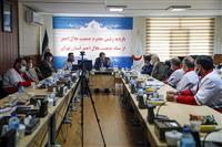 بازدید رئیس جمعیت هلال احمر از هلال احمر استان تهران