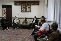 دیدار دکتر همتی رئیس هلال احمر با نماینده ولیفقیه در سیستان و بلوچستان