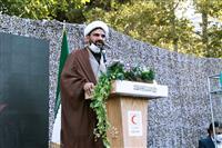 برگزاری آیین گرامیداشت چهلمین سالگرد دفاع مقدس در هلال احمر