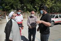 بازدید معاون هماهنگی امور عمرانی گلستان از مناطق زلزله زده رامیان