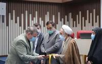 تقدیر از هلال احمر خراسان رضوی در جشنواره شهید رجایی