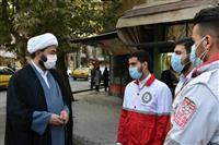 بازدید از ایستگاه های طرح آمران سلامت در کرمانشاه