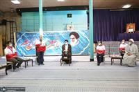 دیدار مدیران، کارکنان و جوانان جمعیت هلال احمر با سیدحسن خمینی