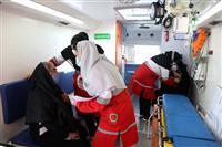 مشارکت ۴۵۵ نیروی عملیاتی کادر و داوطلب هلال احمر تهران در مراسم 22 بهمن