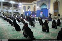 ارتباط تصویری مقام معظم رهبری با شماری از مردم تبریز