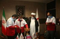 مراسم قرعه کشی انتخاب برندگان پویش جوانان فاطمی هلال احمر تهران